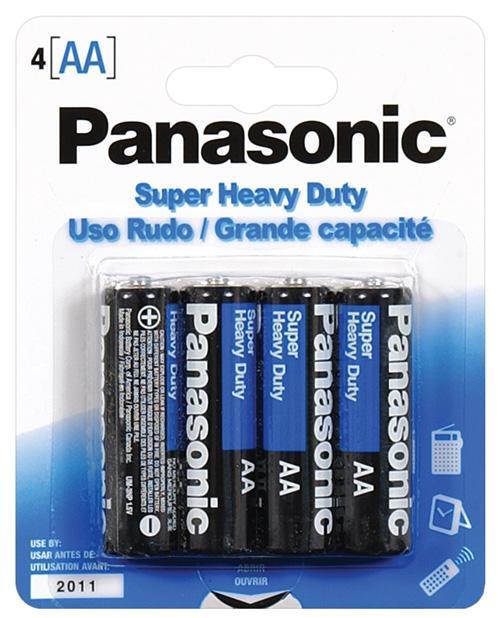 Panasonic Super Heavy Duty Battery AA