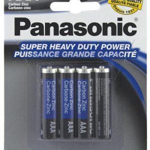 Panasonic Super Heavy Duty Battery AAA