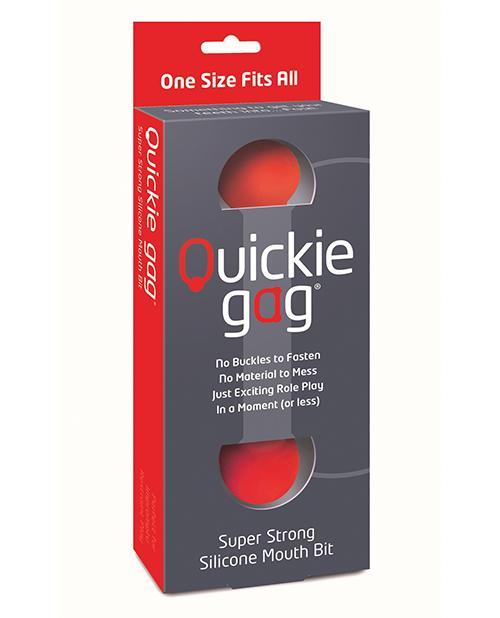 Quickie Bit Gag One Size
