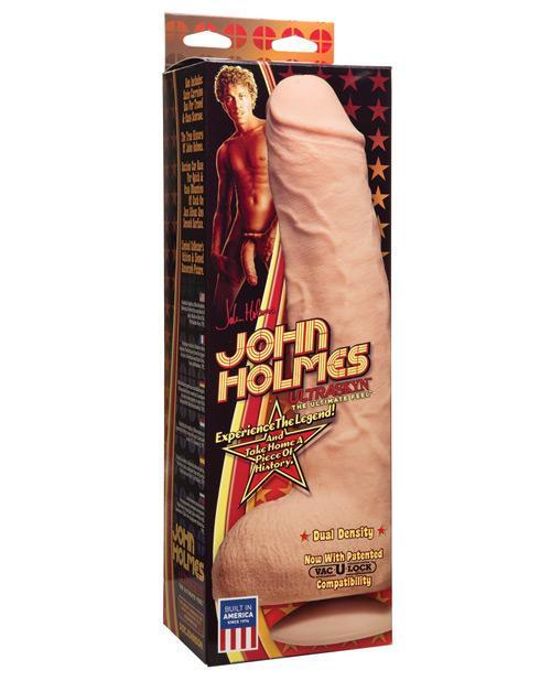 John Holmes Ultraskyn Realistic w/Removable Vac-U-Lock Suction Cup
