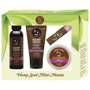 Earthly Body Hemp Seed Mini Mania Kit