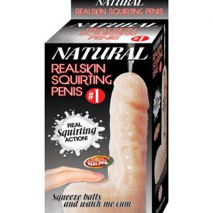 Natural Realskin Squirting Penis #1