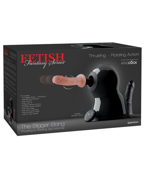 Fetish Fantasy Series the Bigger Bang Thrusting & Rotating Sex Machine