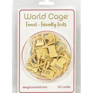 World Cage Travel Friendly Locks