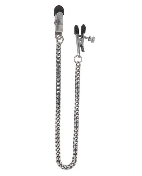 Spartacus Adjustable Broad Tip Clamps  Jewel Chain