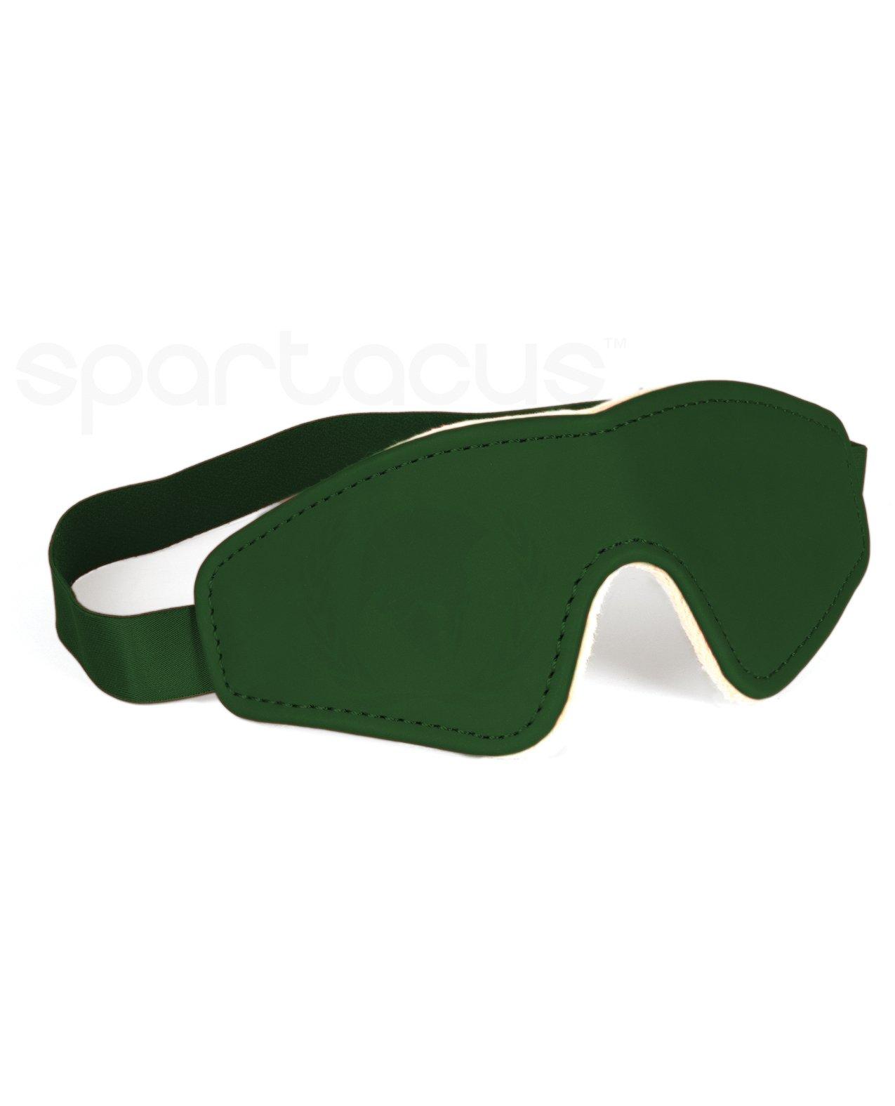 Spartacus PU Blindfold w/Plush Lining