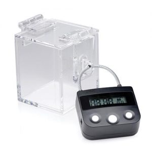 Master Series The Key Holder Deluxe Clear Case w/Lock