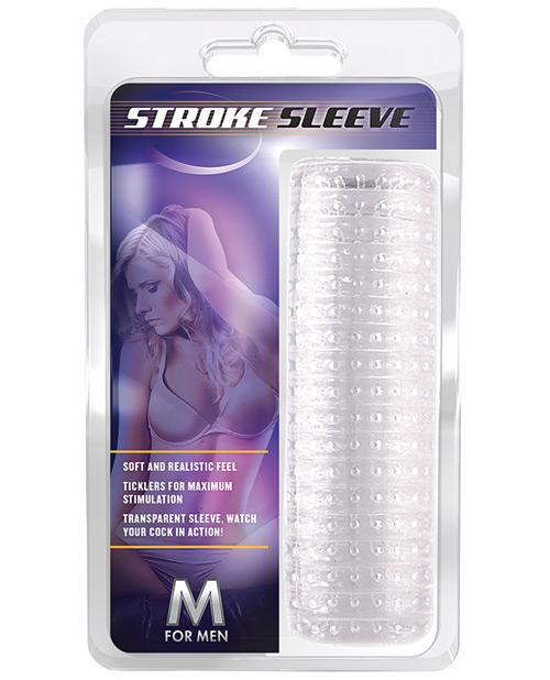 Blush M for Men Stroke Sleeve