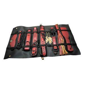 The Ultimate Fantasy Travel Briefcase Restraint & Bondage Play Kit